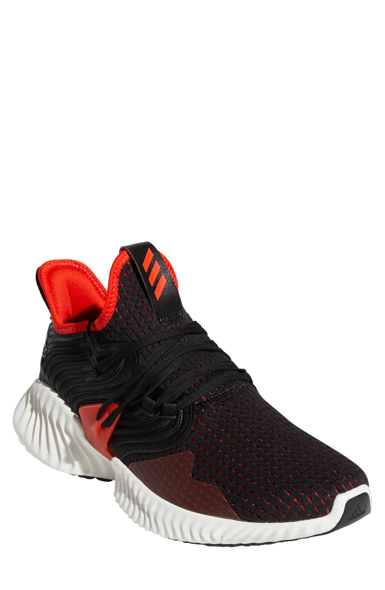 87681cf65 Adidas Originals Alphabounce Instinct Running Shoe In Core Black  Active Red