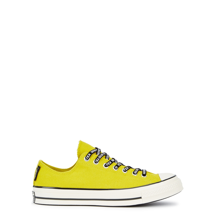 aeb72aa8fa2bec Converse Chuck 70 Gore-Tex Canvas Trainers In Yellow