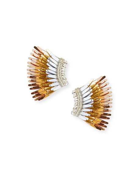 Mignonne Gavigan Mini Madeline Statement Earrings In Multi