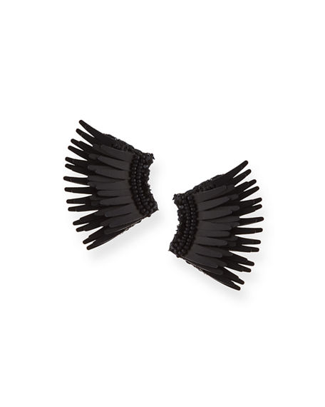 Mignonne Gavigan Mini Madeline Statement Earrings In Black