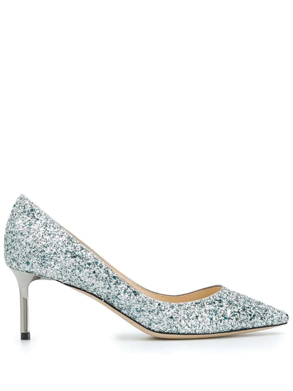 973fb45210da Jimmy Choo Romy 60 Viola Mix Speckled Glitter Pointy Toe Pumps In ...