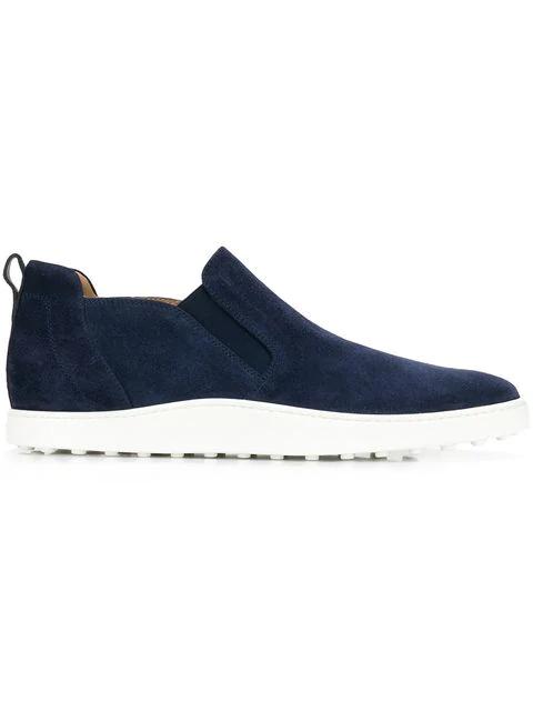 Tod's Elasticated Panel Slip-on Sneakers In U820 Blue