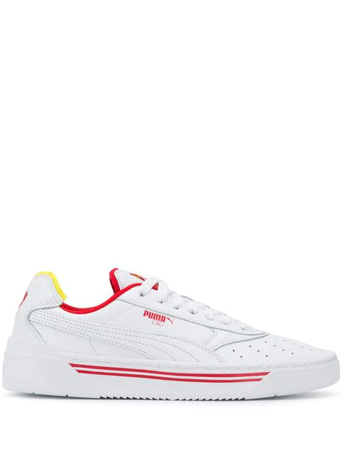 Puma Low Top Sneakers In 01 White