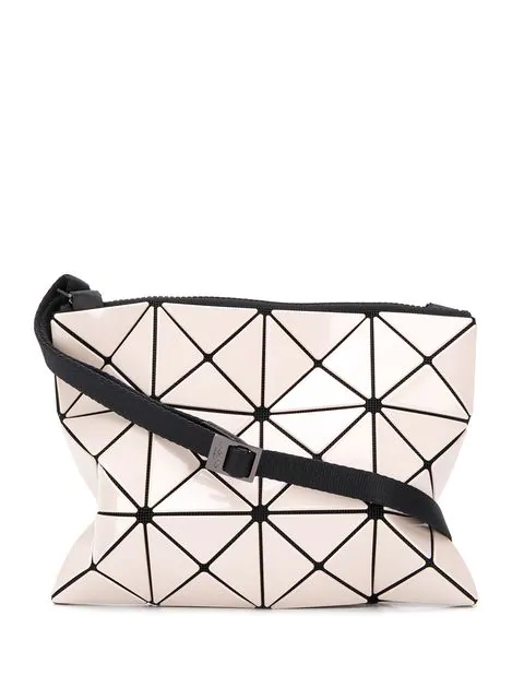 Issey Miyake Prism Small Shoulder Bag In Neutrals