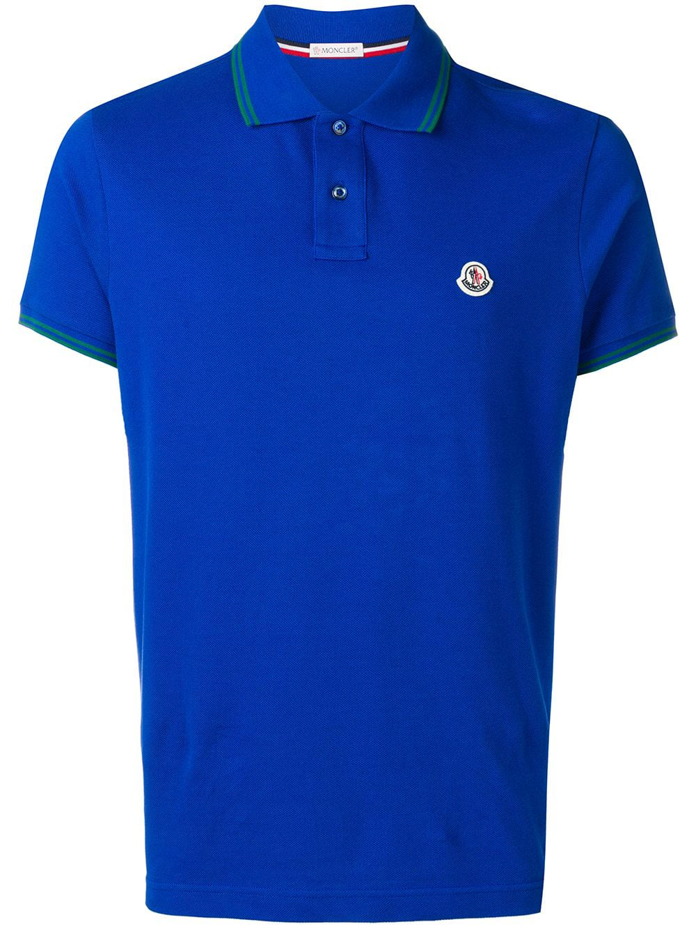 17621d937383 Moncler Polo Shirt - Blue