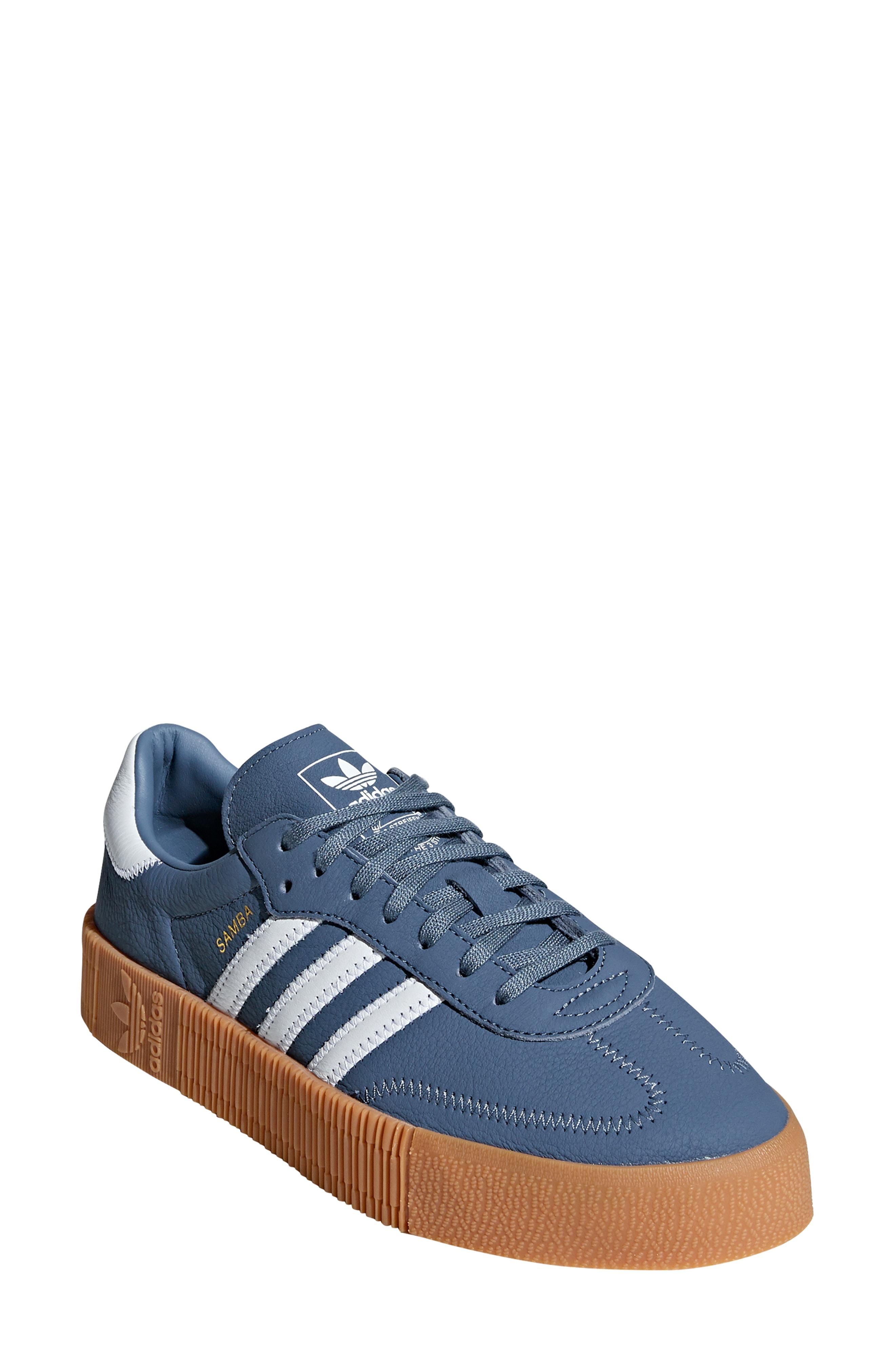 9e997897a01a Adidas Originals Samba Rose Sneaker In Silver Metallic  Orchid Tint ...
