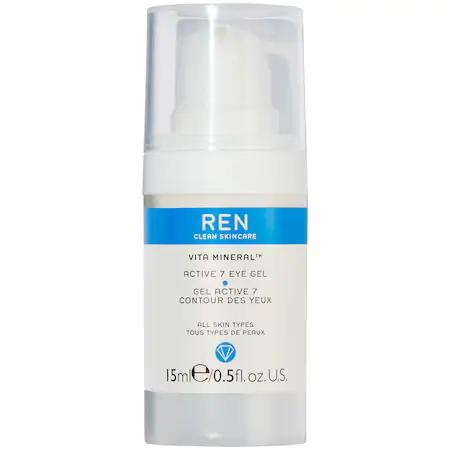 Ren Clean Skincare Vita Mineral™ Active 7 Eye Gel 0.5 oz/ 15 ml