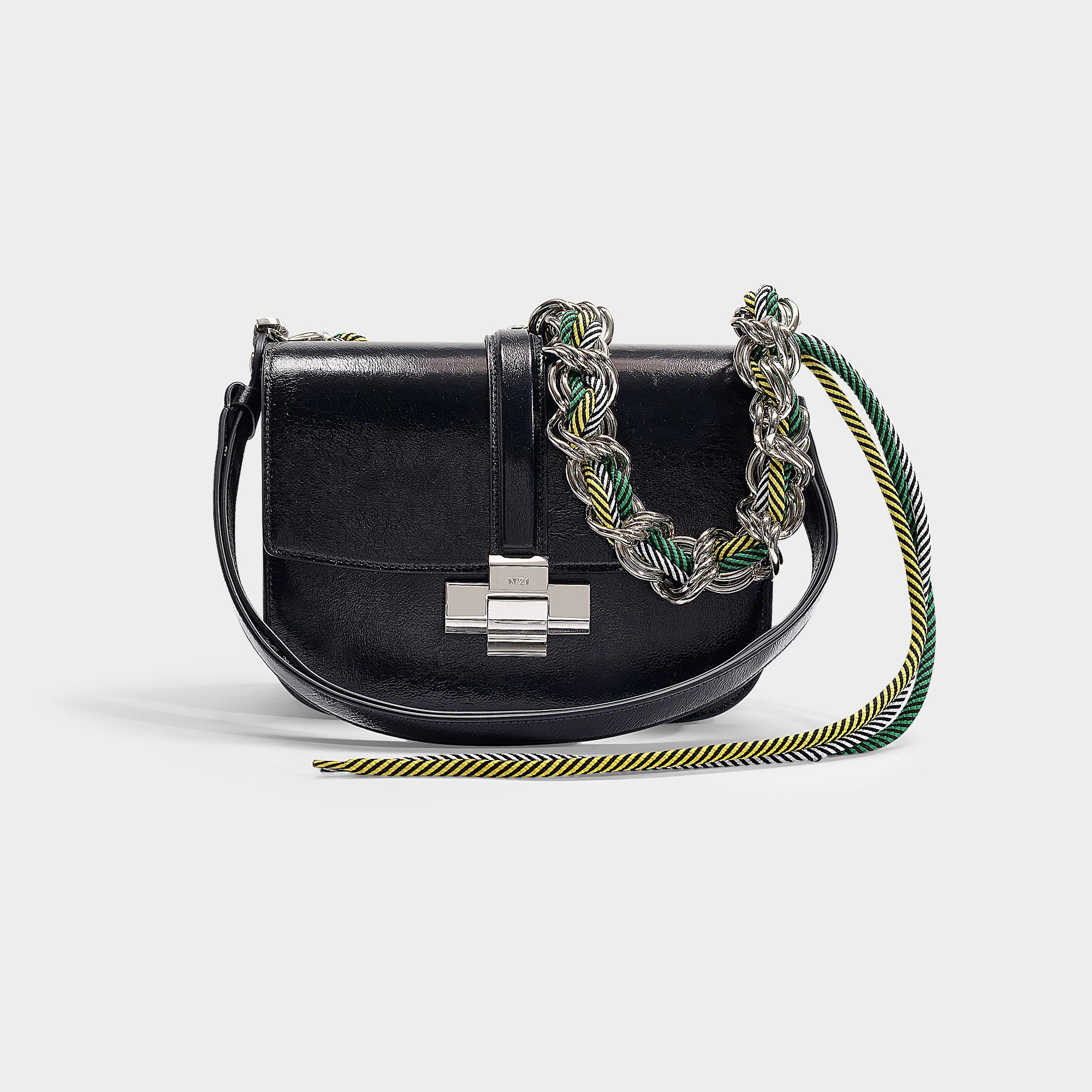 N°21 N21 | Lolita Bag In Black Calfskin