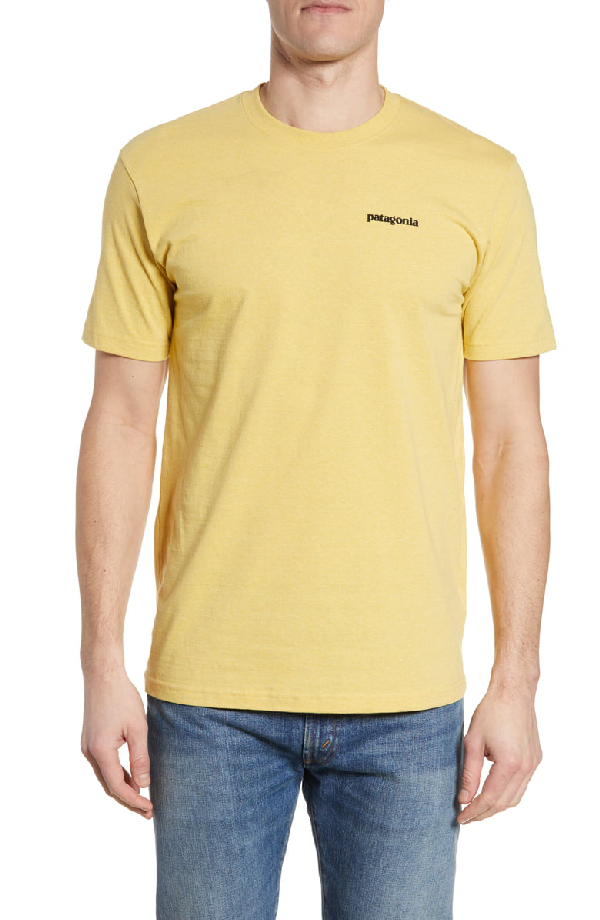 Patagonia Responsibili-Tee T-Shirt In Surfboard Yellow