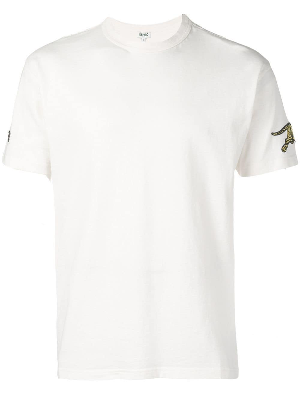76d6b70dcd3 Kenzo Tiger Patch T-Shirt - Neutrals In 03 Nude