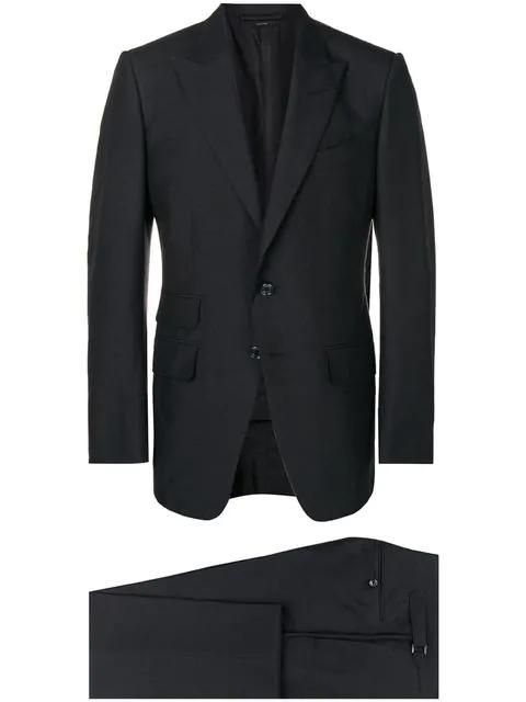 Tom Ford Zweiteiliger 'Shelton' Anzug - Schwarz In Black