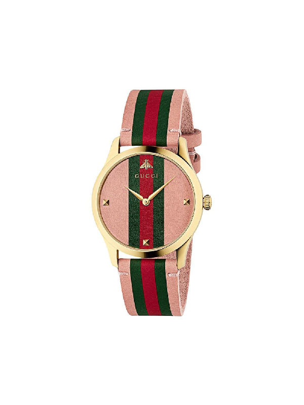 Gucci G-Timeless Watch, 38Mm In Pink
