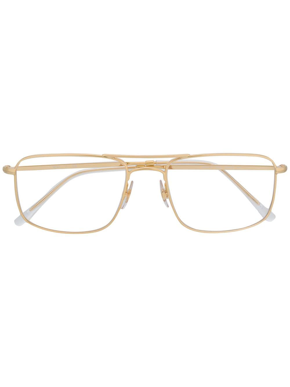 caba8938a2 Ray Ban Ray-Ban Square Glasses - Gold