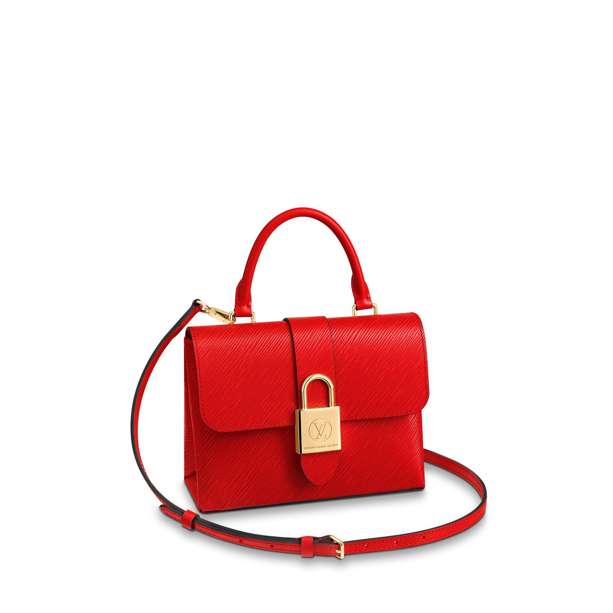 Louis Vuitton Locky Bb In Coquelicot