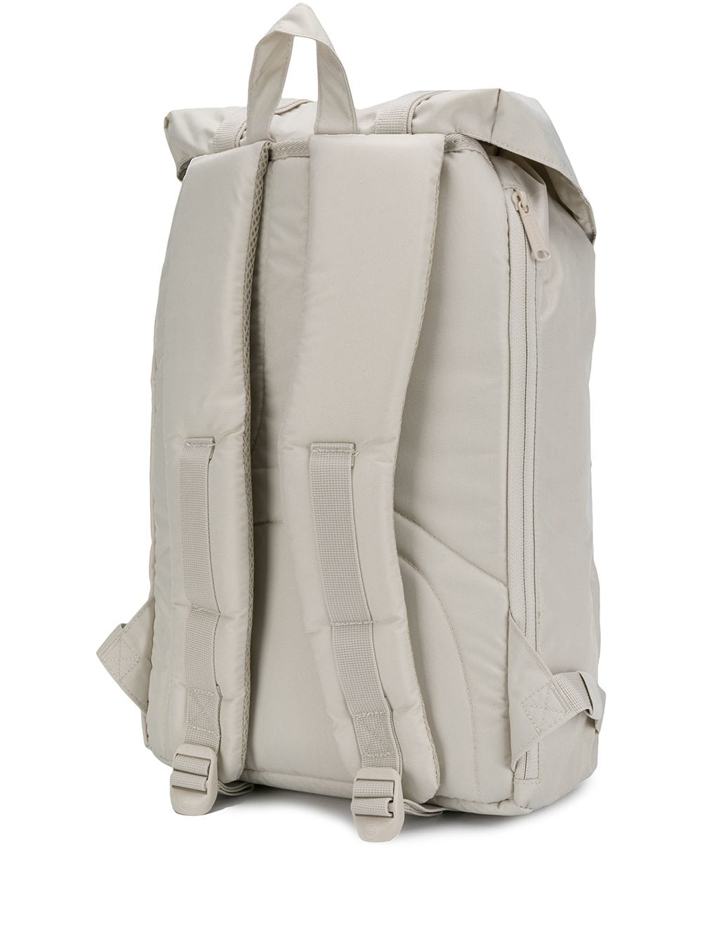 c0c02d969bb White cotton blend Moonstruck buckle backpack from Herschel Supply Co.  featuring a top handle