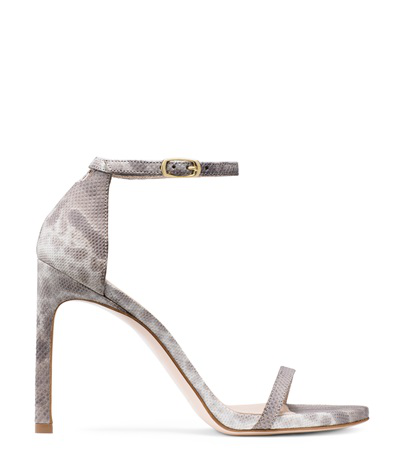 Stuart Weitzman The 75Nudisttraditional Sandal In Pyrite Nocturn