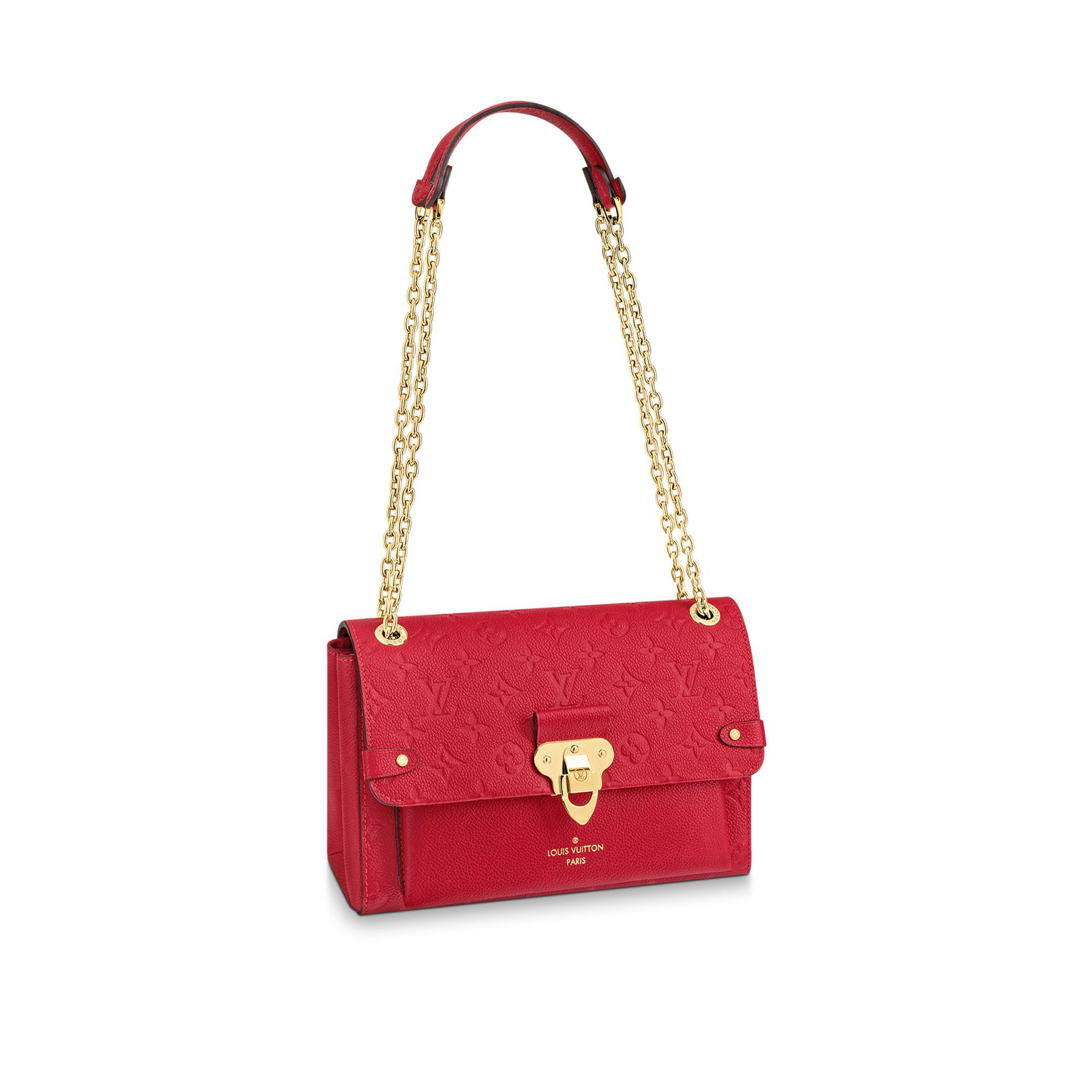 Louis Vuitton Vavin Pm In Scarlet