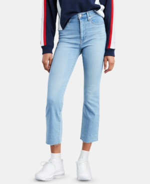 d42c91b52bac Levi s Mile High Cropped Flared Jeans In Play Harder