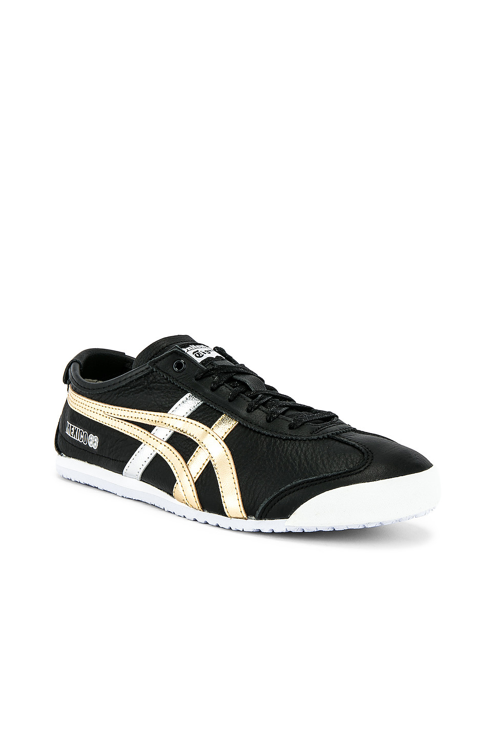 online store 780ec 7e27a Onitsuka Tiger Mexico 66 In Black. in Black & Gold