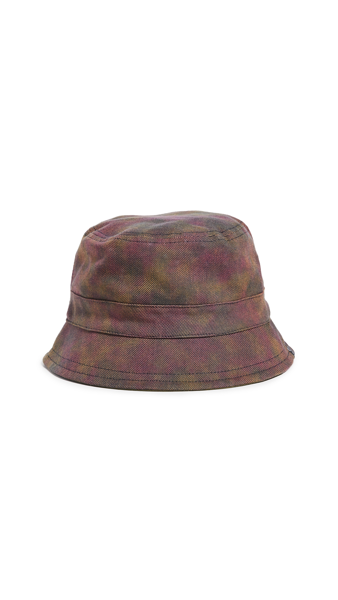 21cc8d61a1c72 New Era Dyed Oxford Reversible Bucket Hat In Pink