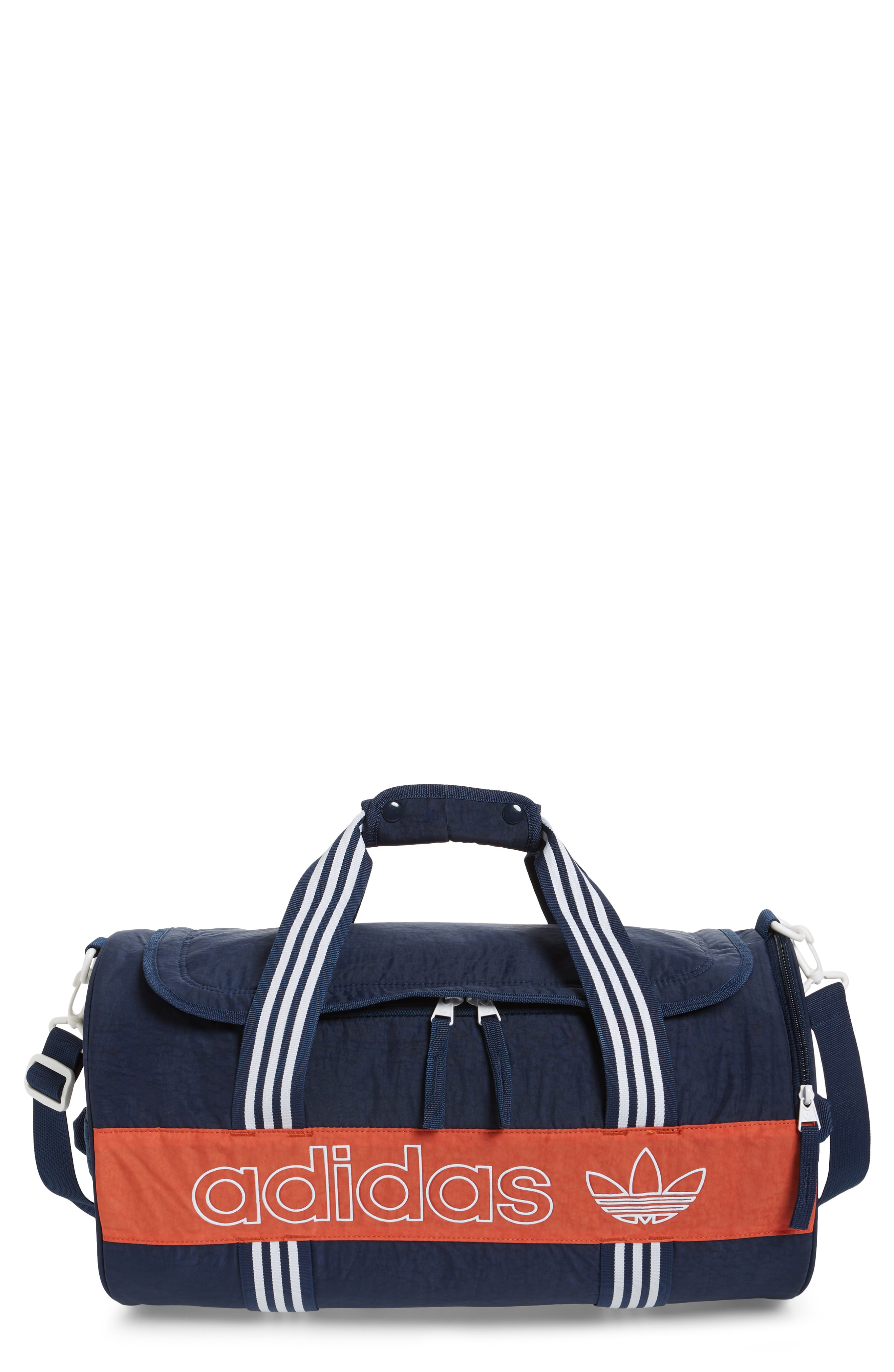 cff1d8032e22 Adidas Originals Adidas Spirit Roll Duffel Bag - Blue In Collegiate ...