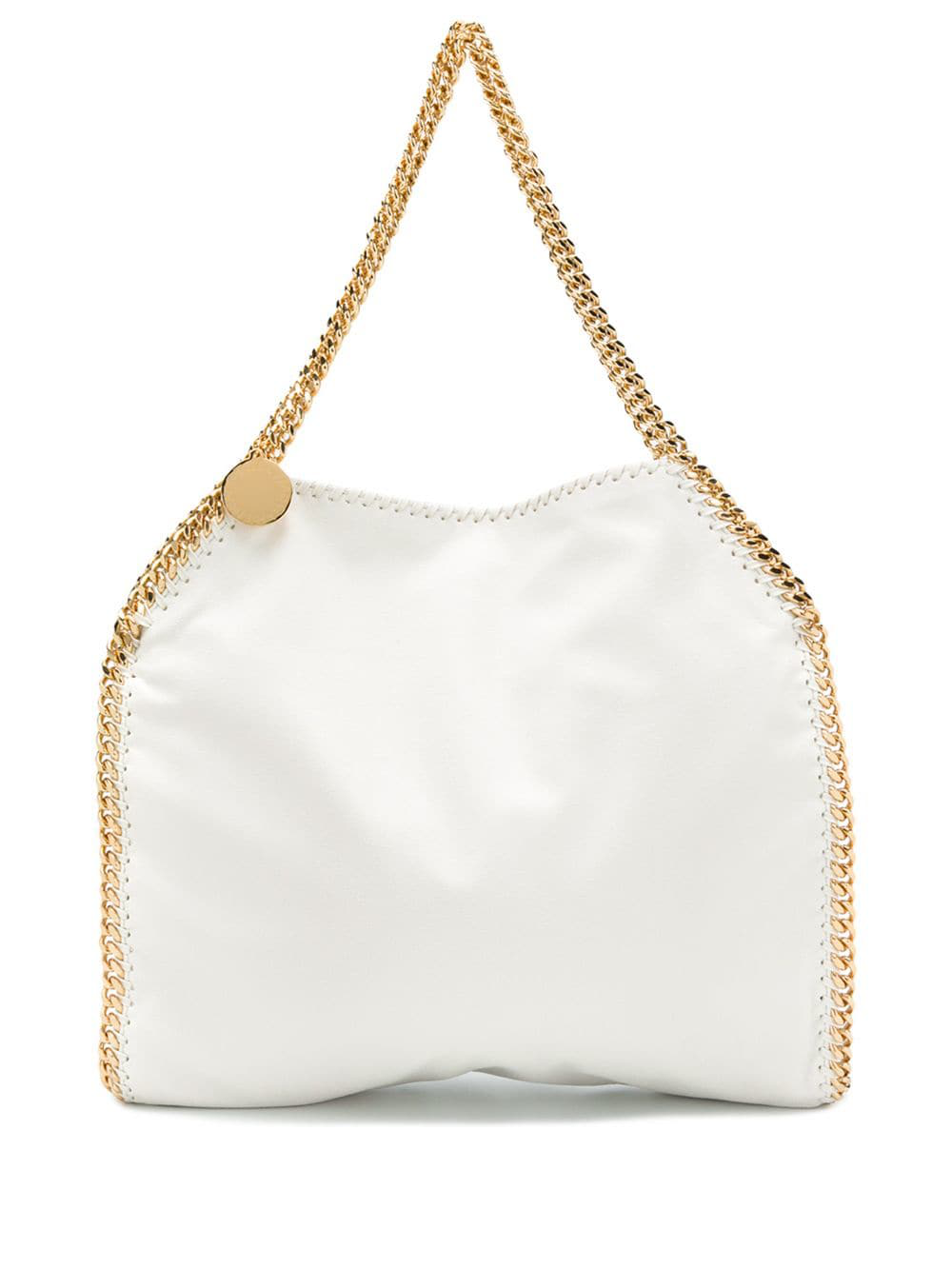 b2caed4350 Stella Mccartney The Falabella Medium Faux Brushed-Leather Shoulder ...