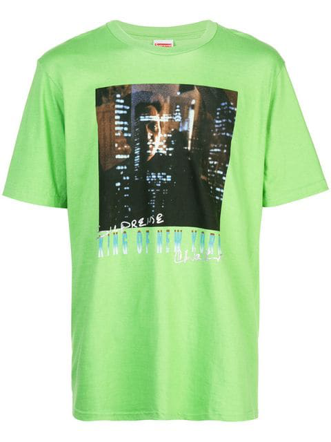 Supreme King Of New York T-shirt In Green