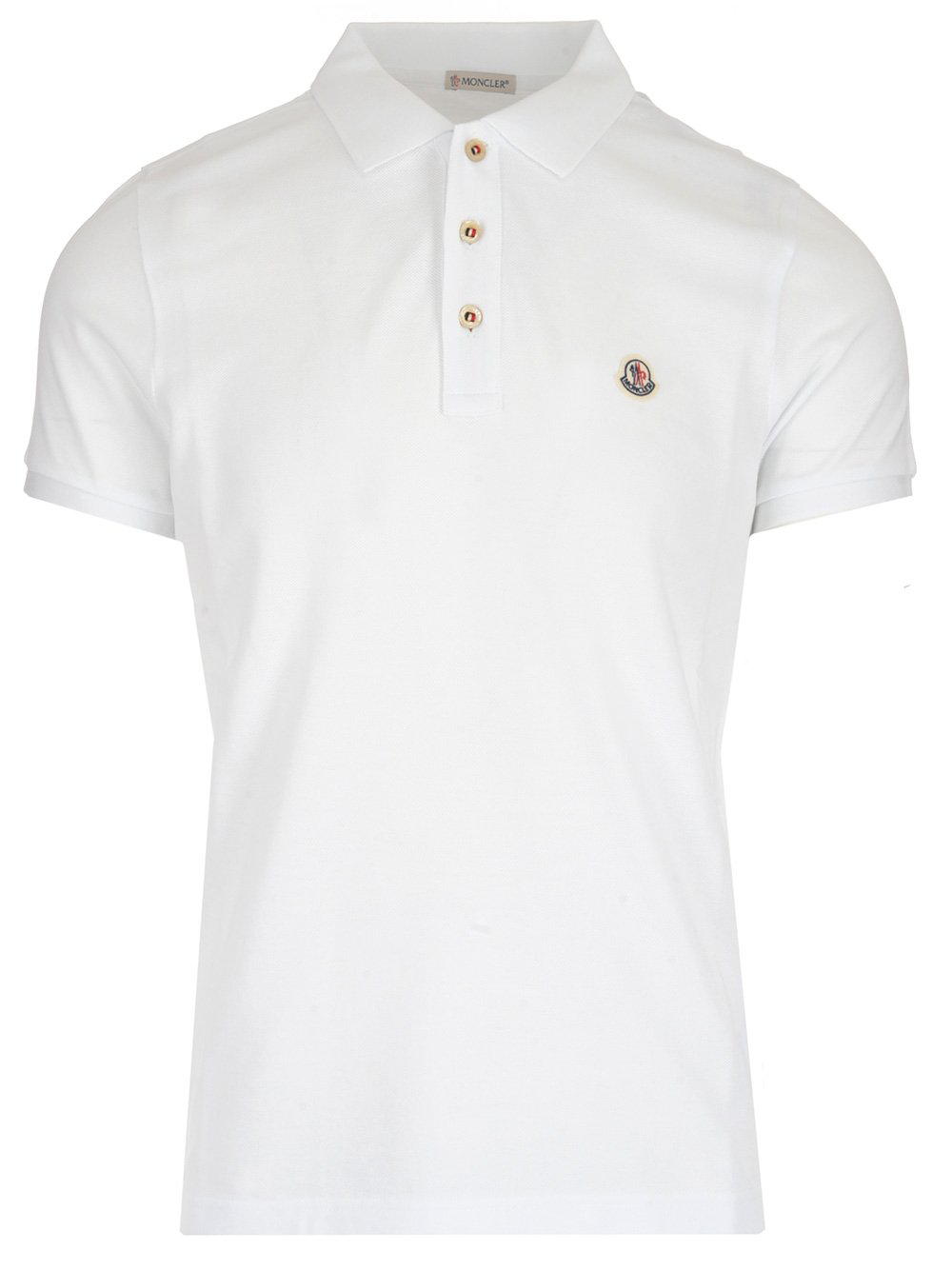 c29d2c625 Moncler Classic Polo Shirt In White
