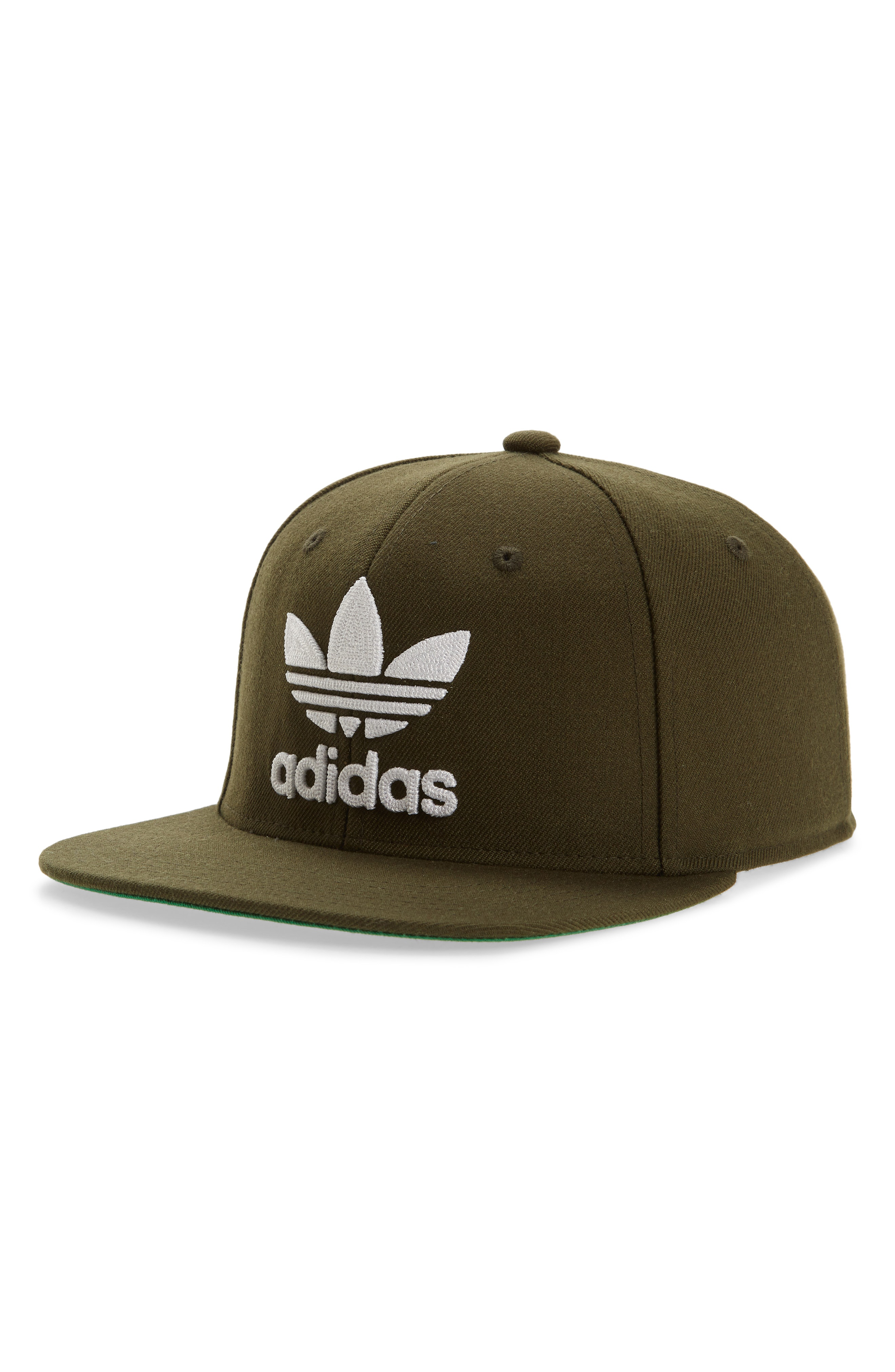 538552bde8c Adidas Originals Trefoil Chain Snapback Baseball Cap In Cargo  White ...