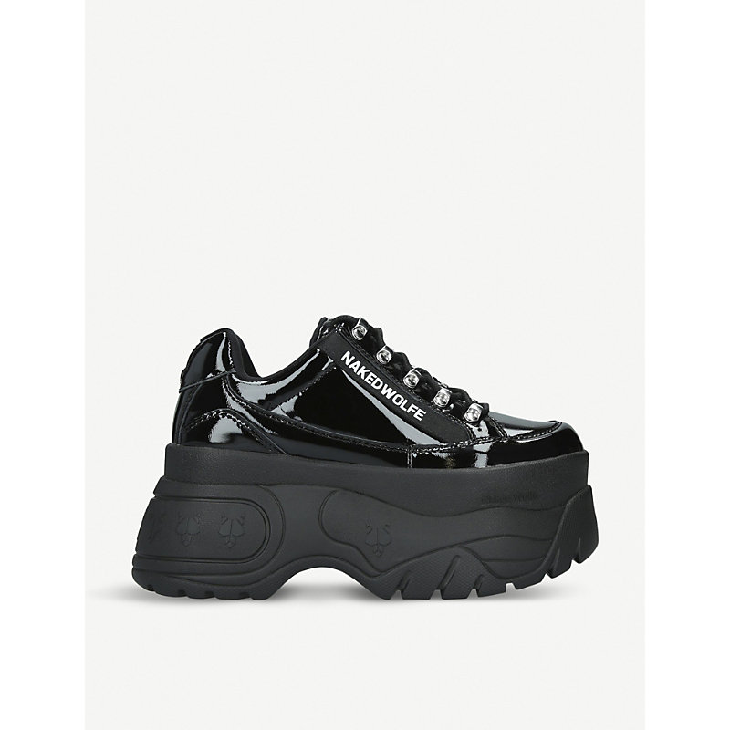 Naked Wolfe Naked Wolfe Sprinter Womens Sneakers Black