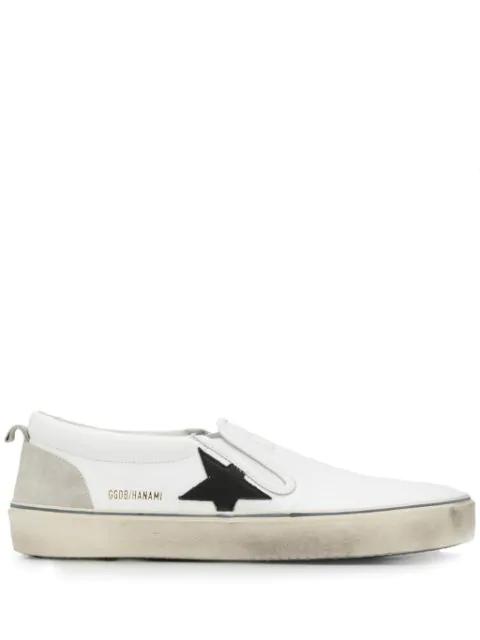Golden Goose Hanami Sneakers In White
