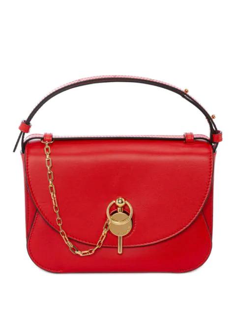 Jw Anderson Scarlet Keyts Bag In Red
