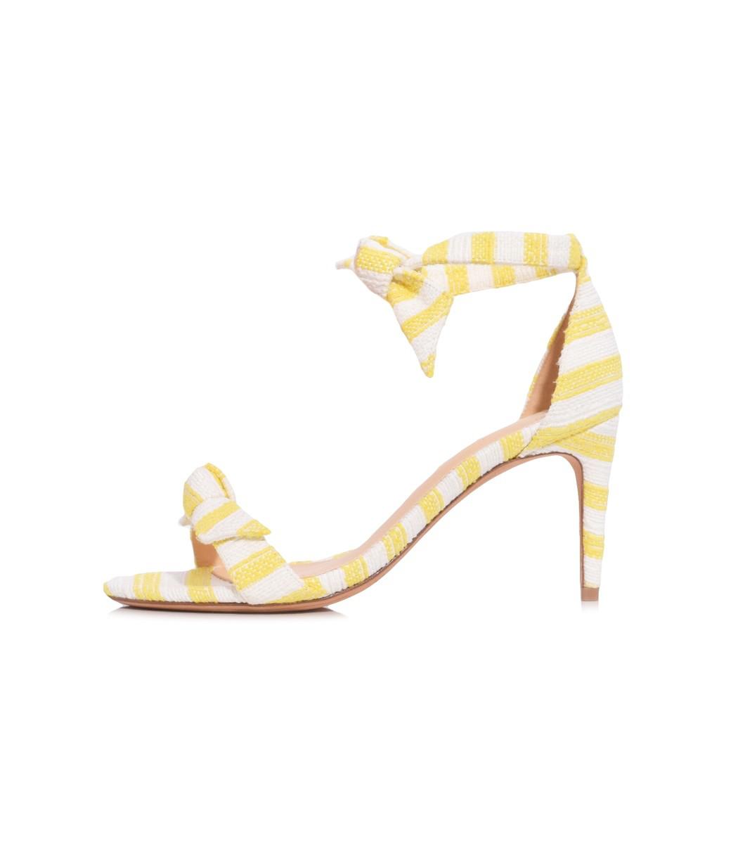 16eb7257993 Clarita Heel In Sunflower in Yellow