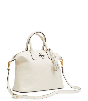 955a172cf Tory Burch Mcgraw Slouchy Satchel In White   ModeSens