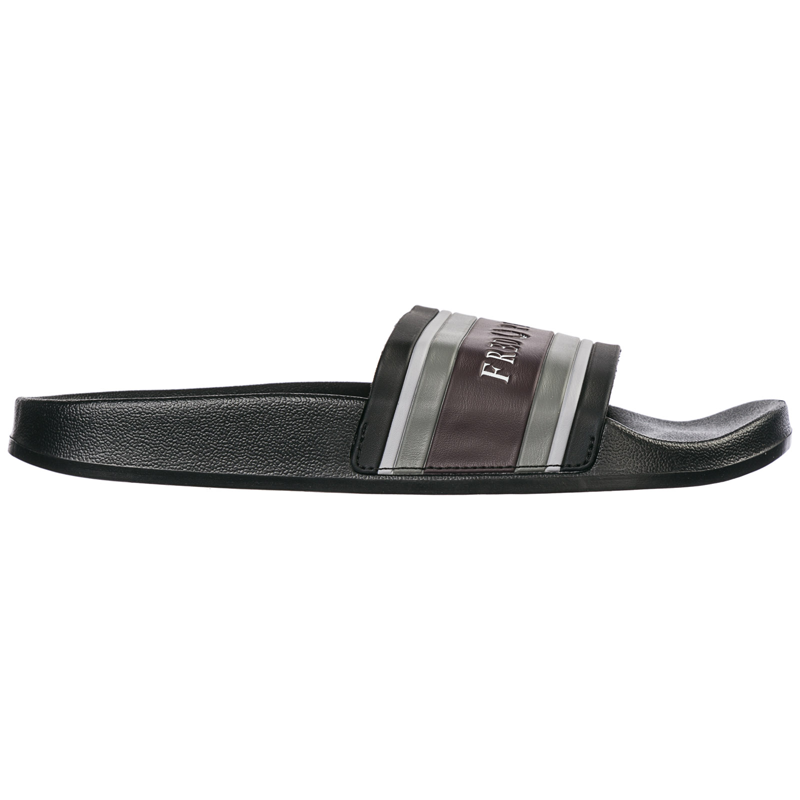 Fred Perry Men's Slippers Sandals Rubber In Black