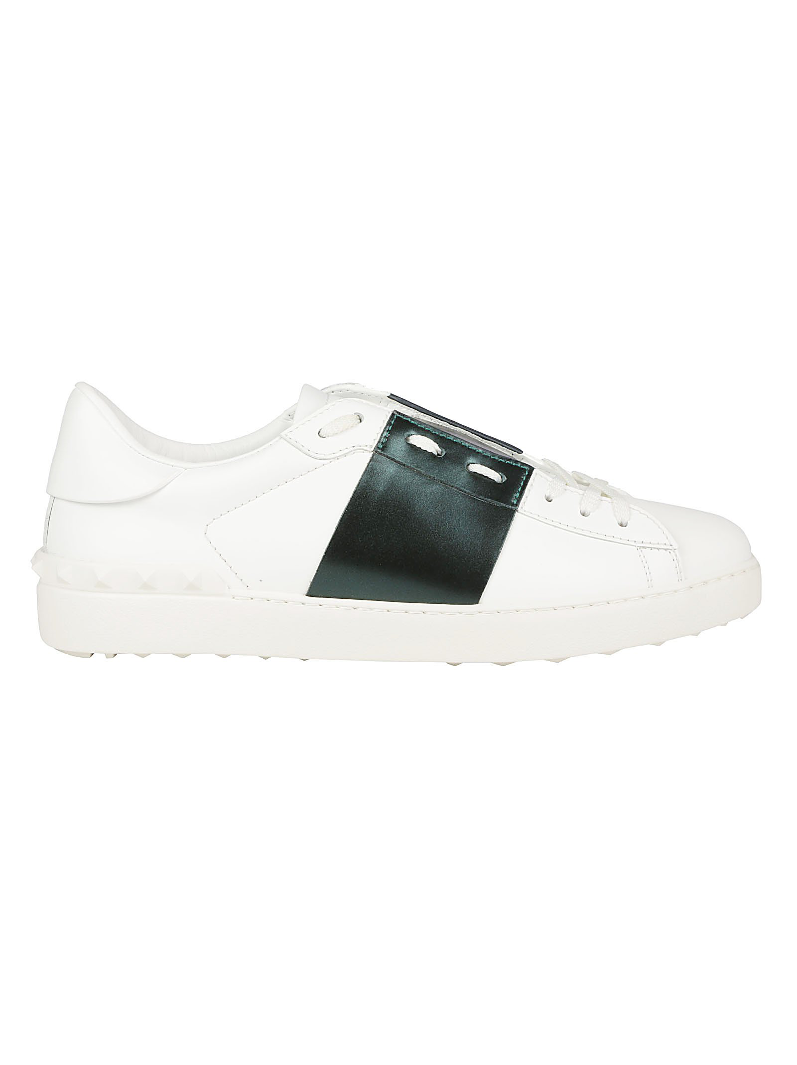55b896d853e Valentino Open Low Top Sneakers In Bianco Mountain View