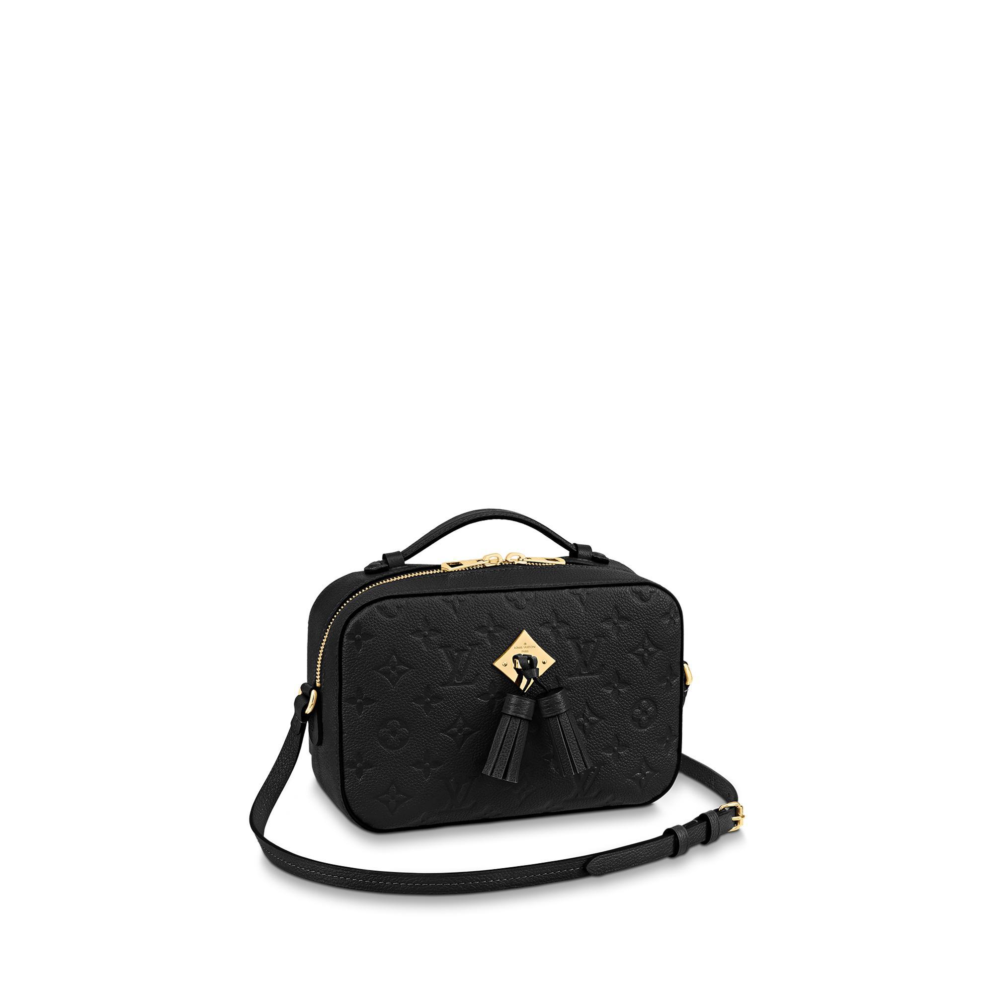 Louis Vuitton Saintonge In Noir