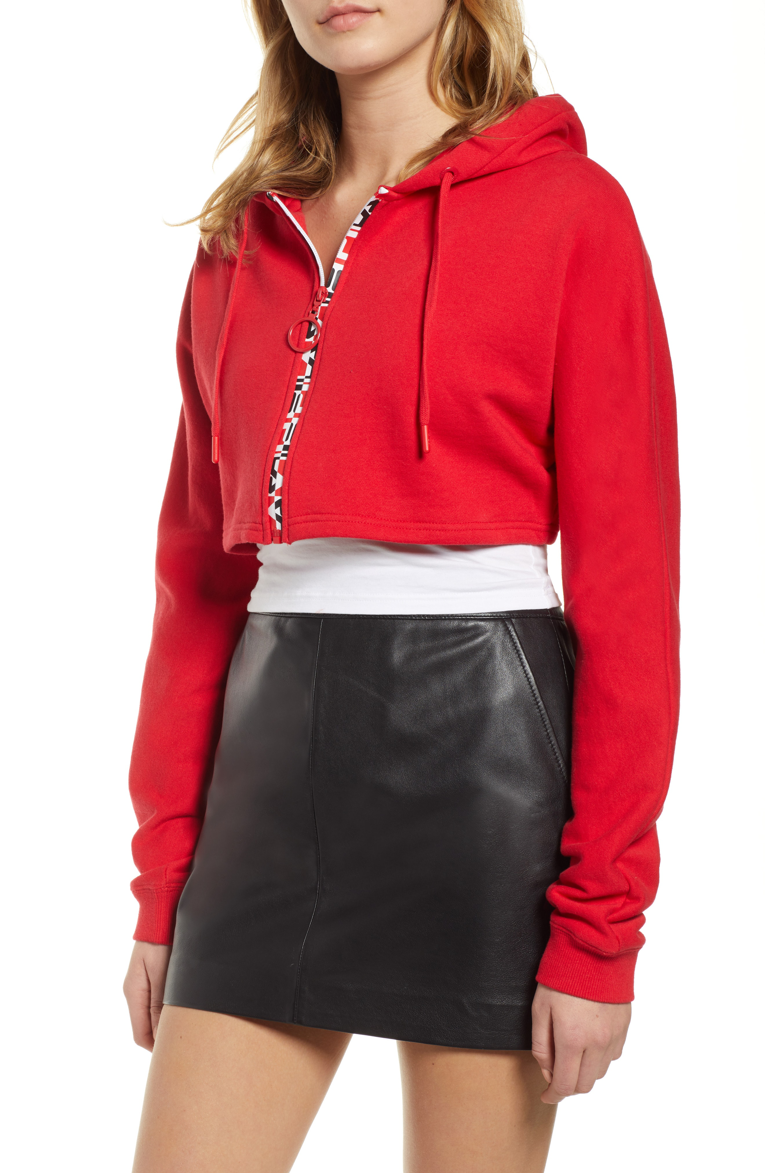 9a03f867724d Fila Alexa Crop Hoodie In Chinesred | ModeSens