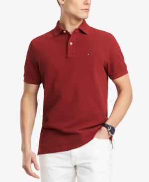 9e837d3e Tommy Hilfiger Men's Ivy Custom Fit Polo, Created For Macy's In Vallarta