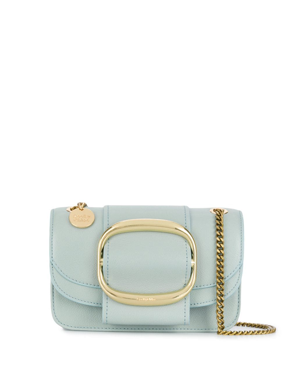 0fce6cf2bab8 See By ChloÉ Hopper Small Cross Body Bag - Blue