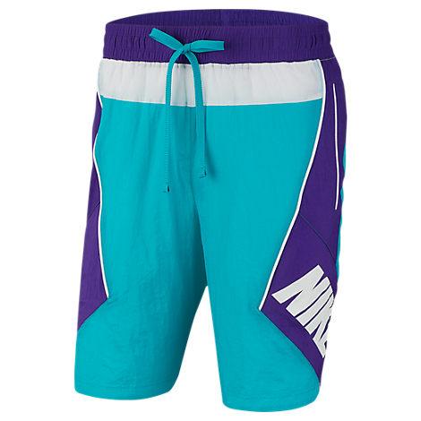 6a43752337 Nike Men's Throwback Basketball Shorts, Blue | ModeSens