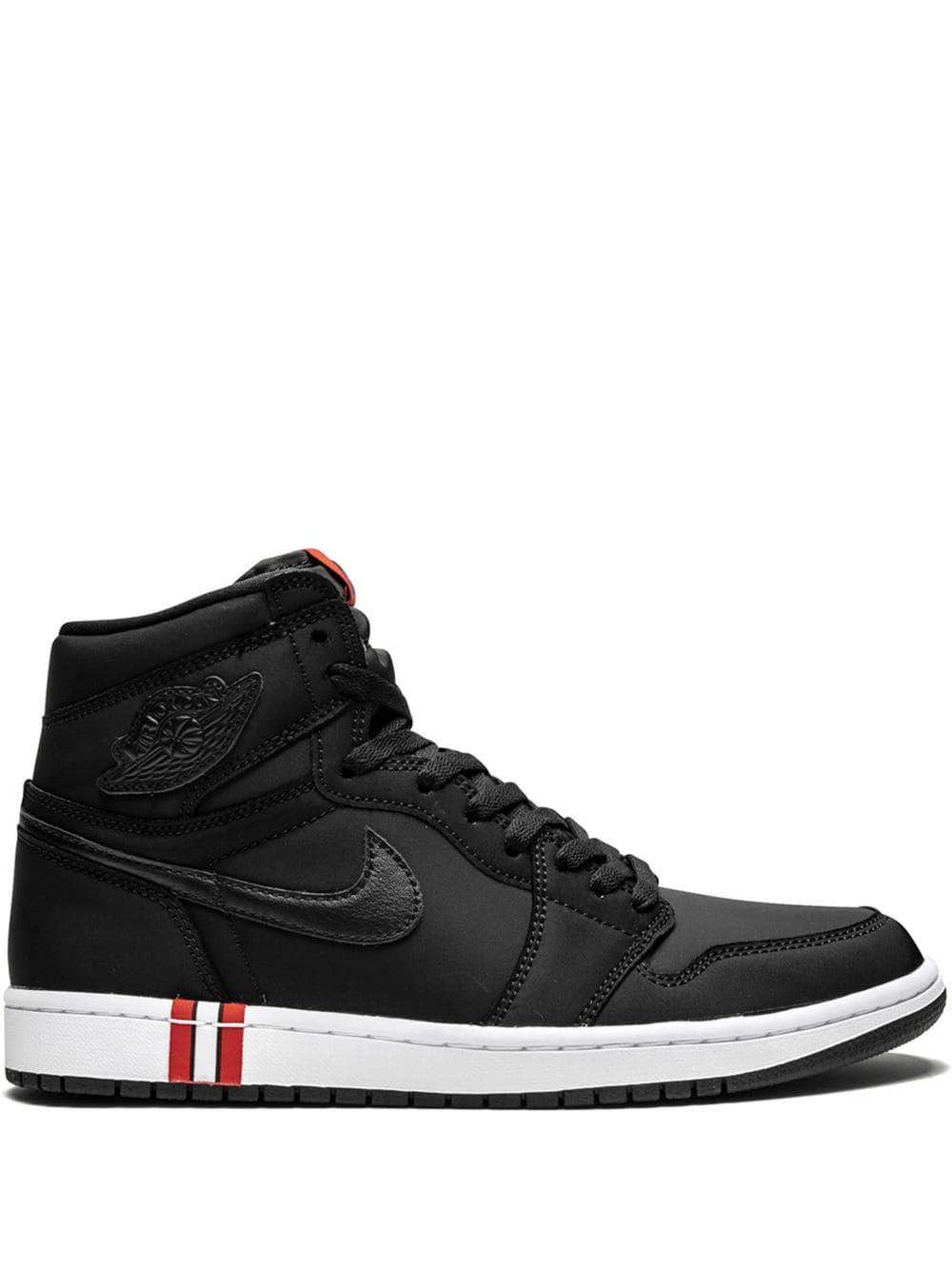 sports shoes 80da7 6b46a Jordan Air 1 Retro Hi Og Bcfc - Black