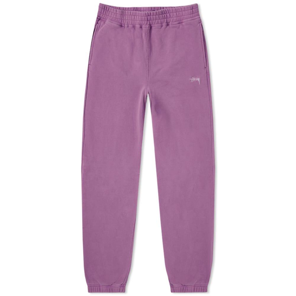 321ea0d2 Stussy Stock Fleece Pant In Purple | ModeSens