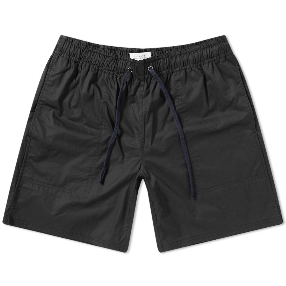 cb91e85e50 Saturdays Surf Nyc Saturdays Nyc Ritchie Short In Black | ModeSens