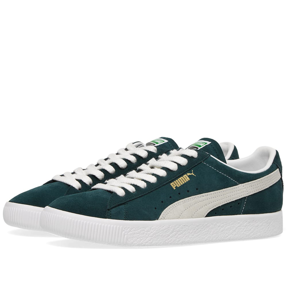 new arrivals 638f5 21404 Puma Suede 90681 Og in Green