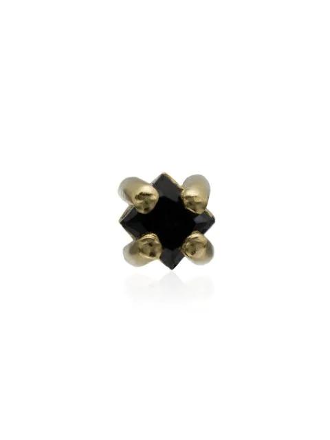 Lizzie Mandler Fine Jewelry 18kt 'lara' Gelbgoldohrring Mit Diamanten In Gold