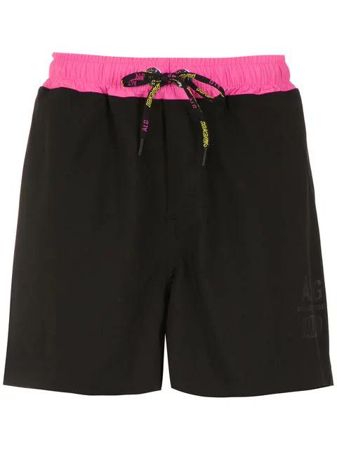 ÀLg X Pakalolo Track Shorts - Black
