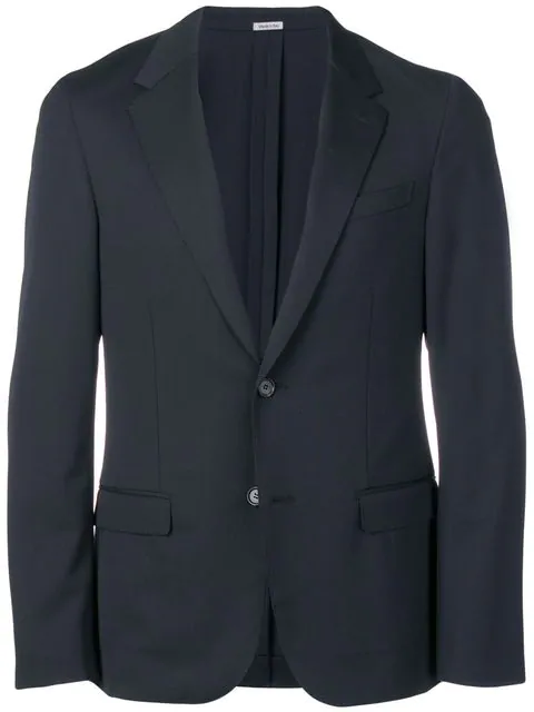 Lanvin Two Button Blazer In Black