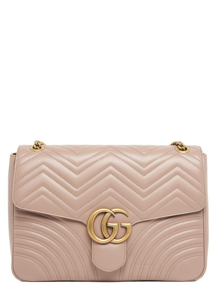 Gucci Gg Marmont 2.0 Shoulder Bag In Pink
