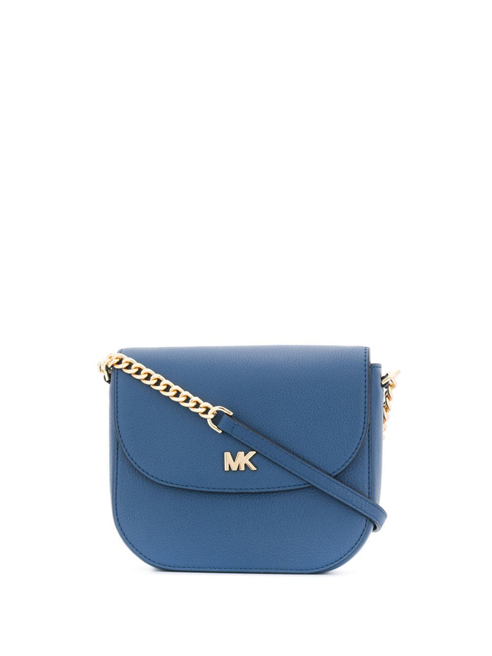 fb51f626a8c0 Michael Michael Kors Mott Crossbody Bag - Blue | ModeSens